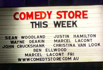 Sydney Comedy Store